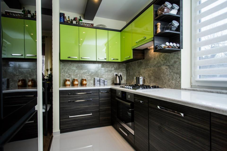 14 -> Kuchnia Ikea Zielona